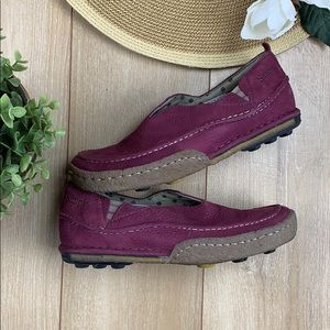 Simple purple casual shoes